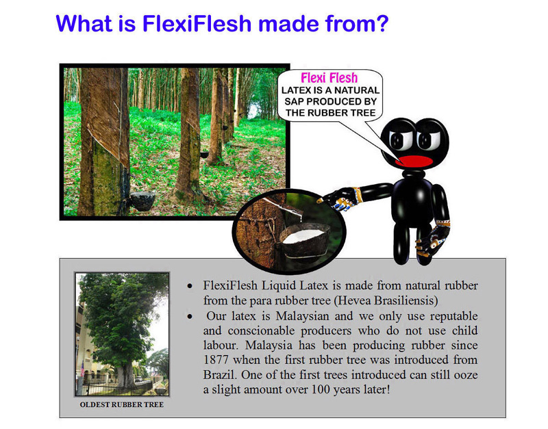 What is Flexiflesh made from