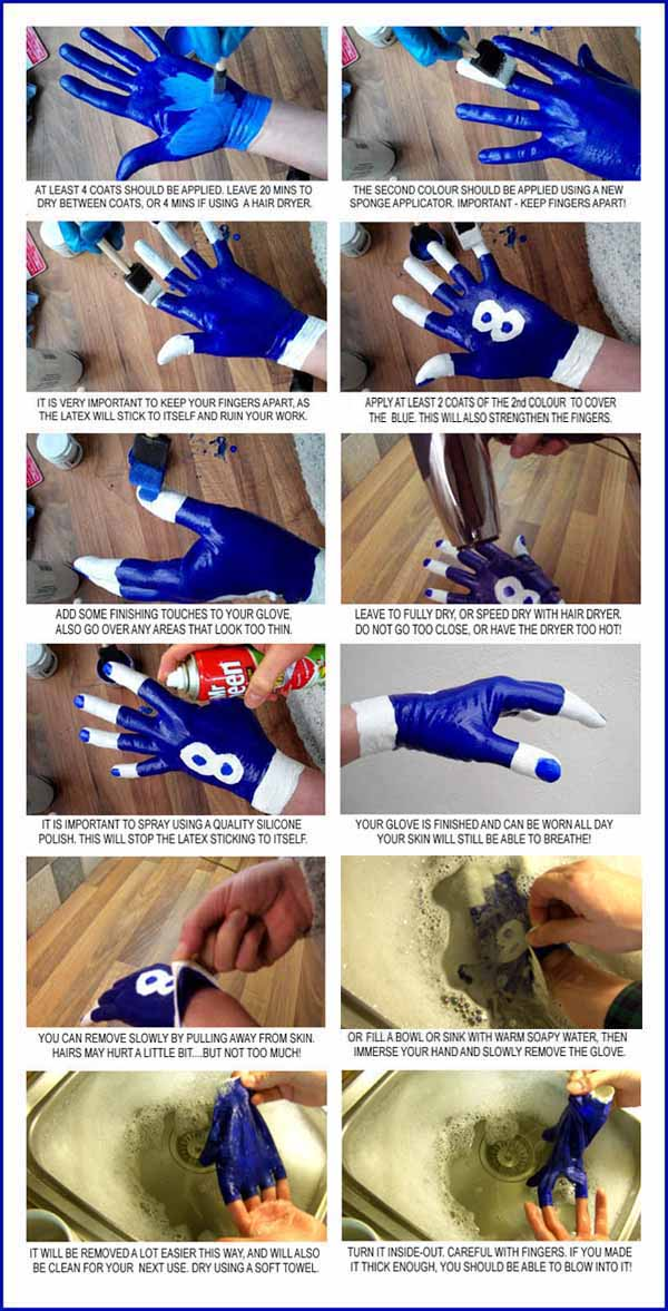 Blue Glove Latex